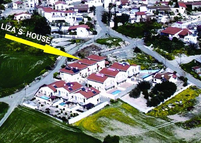 Liza's  house