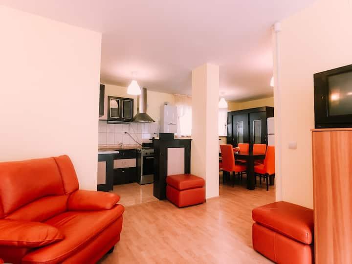 Spacious apartment near Peleș Castle