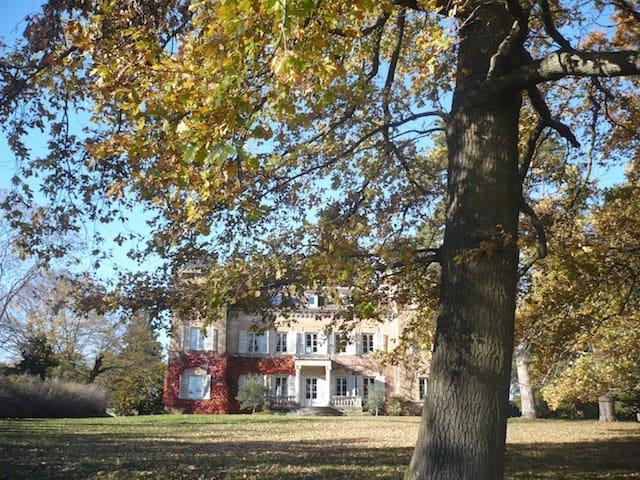 -3- manoir à la campagne 12km Nord Lyon - Dommartin - Bed & Breakfast