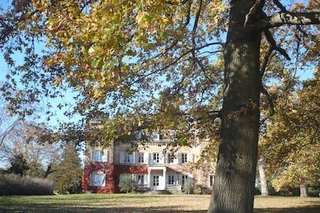 -3- manoir à la campagne 12km Nord Lyon - Dommartin