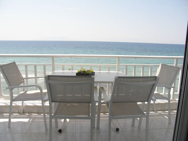 FIRST ON THE BEACH APARTMENT IN SKALA FOURKA