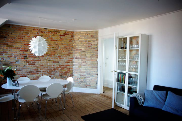 Cosy apartment near Metro, the city and parks - Frederiksberg - Flat