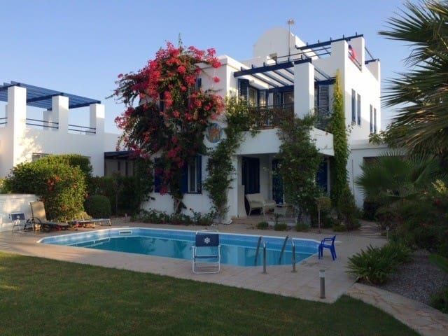 3 bdr Beach Front Villa Riviera - Poli Crysochous - Ev