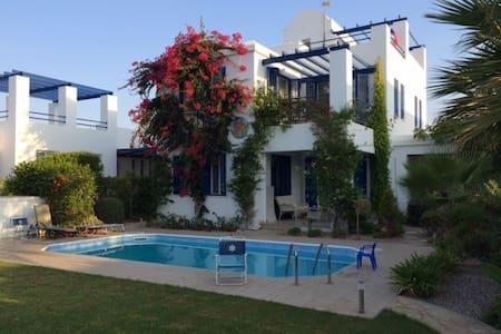 3 bdr Beach Front Villa Riviera - Poli Crysochous