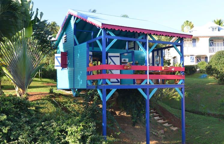 Bungalow neuf avec vue sur lagon - Deshaies