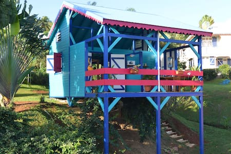 Bungalow neuf avec vue sur lagon - Deshaies - (ukendt)