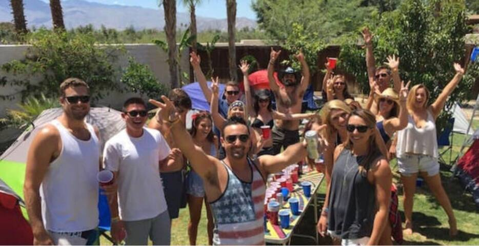 Coachella/stagecoach camping 16 - Coachella - Dům