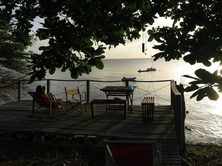 Casa entera. Providencia (isla) Colombia.
