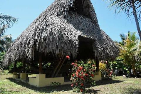 Cabaña tropical privada
