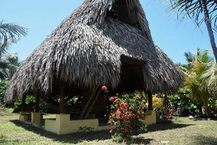 Cabaña tropical privada