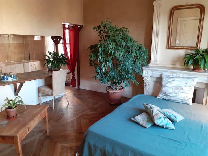 chambre et salle d'eau privative + petitdéjeuner