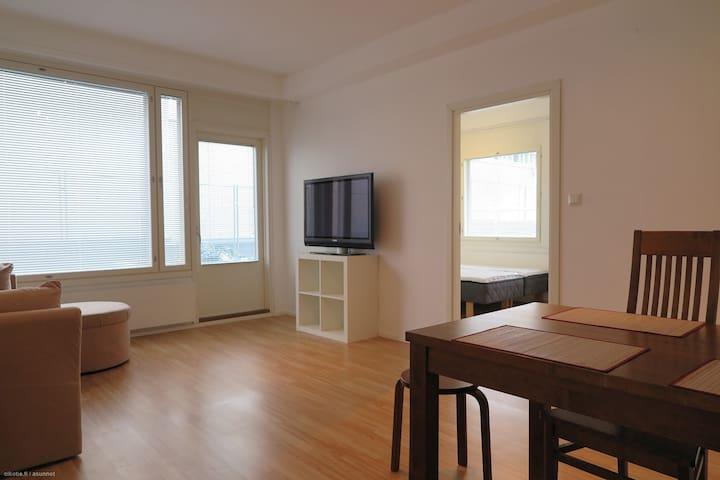 Kaksio Lahden keskustassa - Lahti - Apartamento