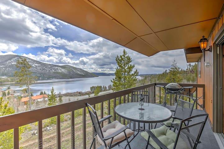 2BR Grand Lake Condo w/Lake & Mountain Views!