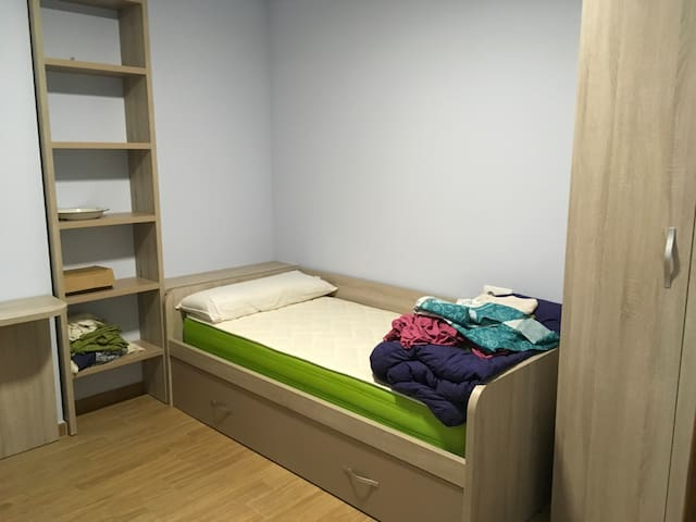 2 habitaciones en el centro, hasta 3 personas - Salamanca - Lägenhet