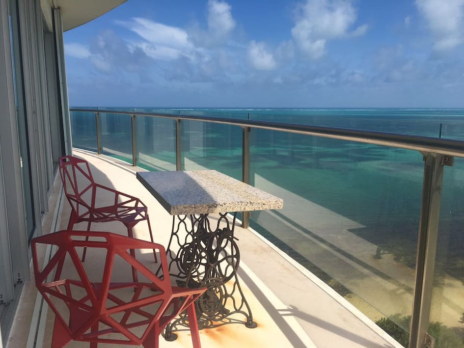 Terrace. Ocean View