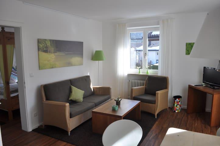Haus Karwendelblick Ferienwohnung Wiesengrün - Mittenwald - Apartamento