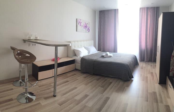Квартира-студия в апарт-отеле