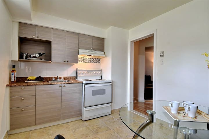Comfortable 41/2  near downtown and lachine canal