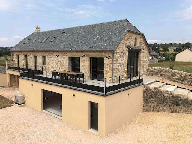 Ancienne grange transformée en loft - 14 couchages