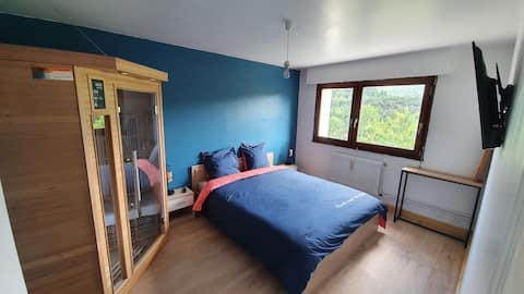 Appart'Hotel  Lizon Cocooning avec sauna