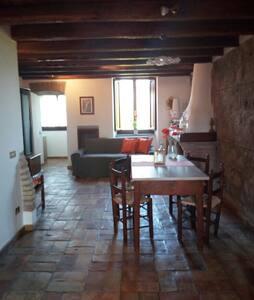 Accogliente e panoramica casa in cascina del '300 - Рим - Квартира