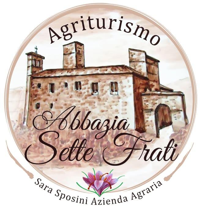 Logo - Agriturismo Abbazia Sette Frati - Azienda Agraria Sara Sposini