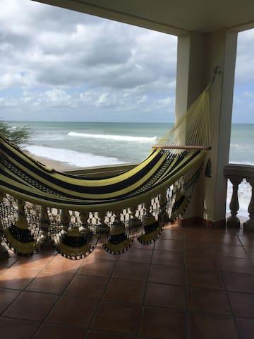 Panga Drops surf break