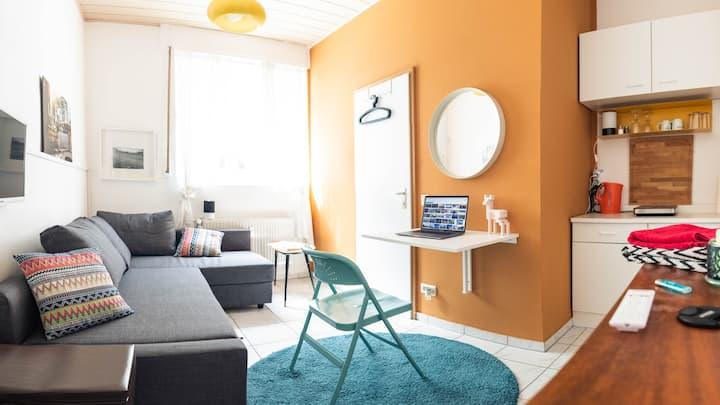 STAY SMART – compact budget studio.