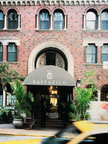 Getaway at Raffaello Hotel, close by Hancock Tower