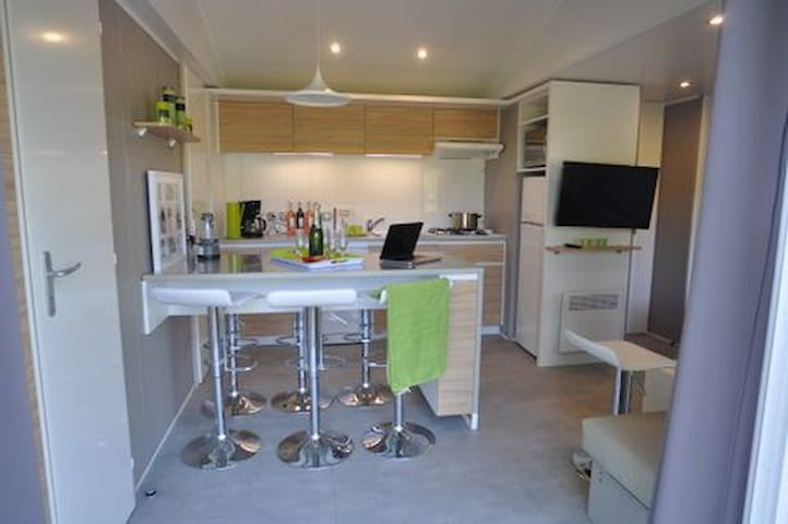 Garden chalet Trappeur 3 chambres