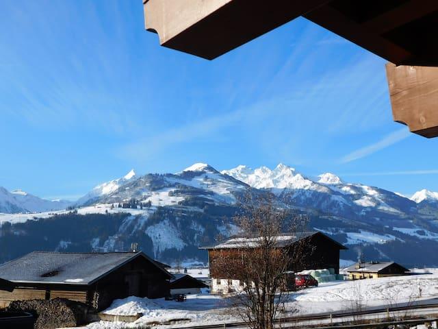 2 Zi.-Appartment Toni mit herrlichem Panoramablick - Aufhausen