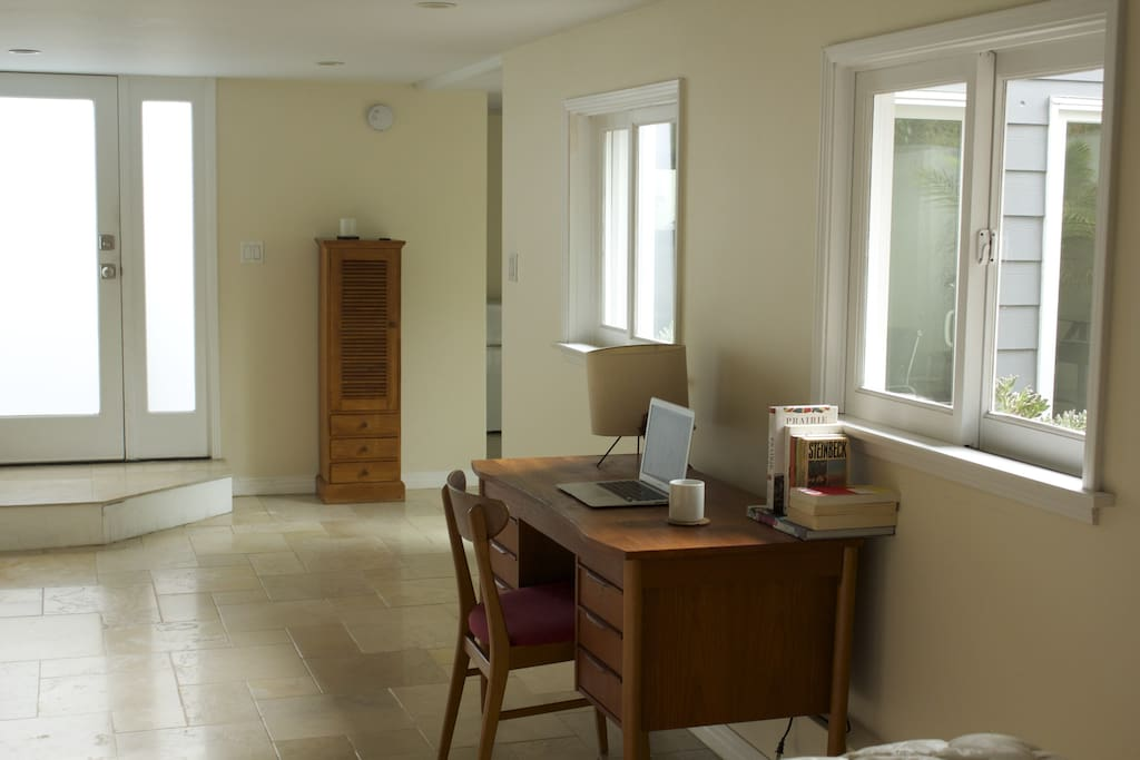 Office area with private entrance
