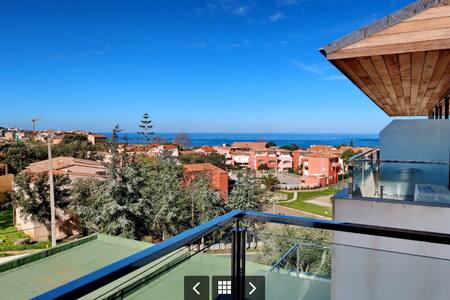 T2 vue mer Algajola haute Corse