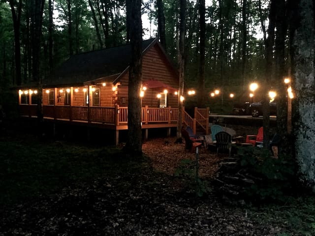 Leister Kabine: Our cozy cabin in the woods