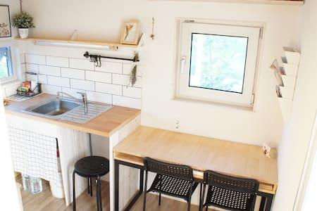 [세종시 전의면 비암사]혼자 사색하기 좋은 2.7평 초소형 집(Tiny House) - Choza
