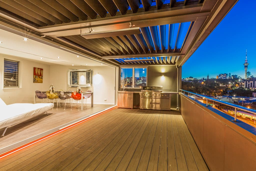 Indoor/Outdoor Top Floor