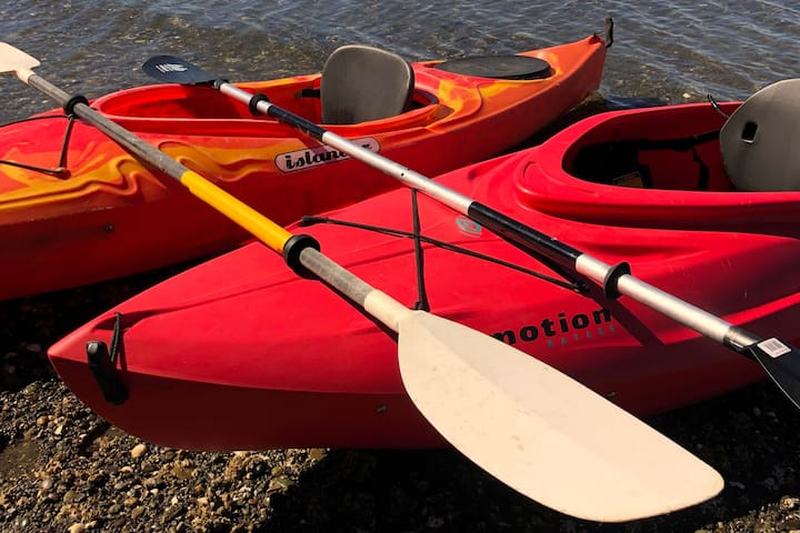 Lightweight, stable kayaks for you to enjoy!