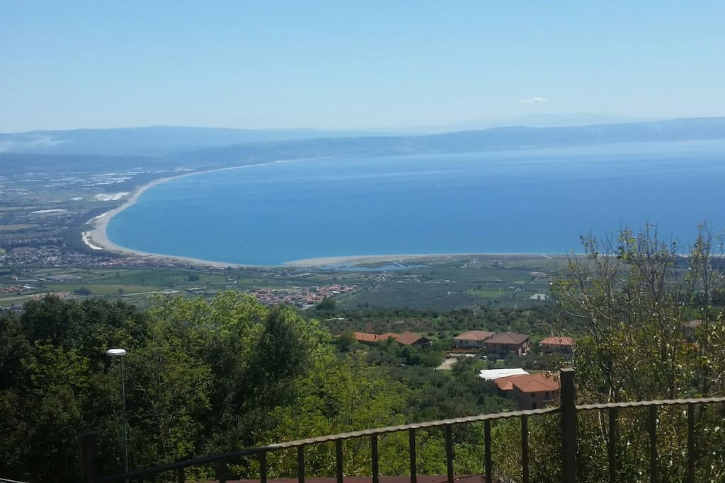 Finestra sul golfo camere vist mare bed and breakfasts for rent in gizzeria calabria italy - Finestra a golfo ...