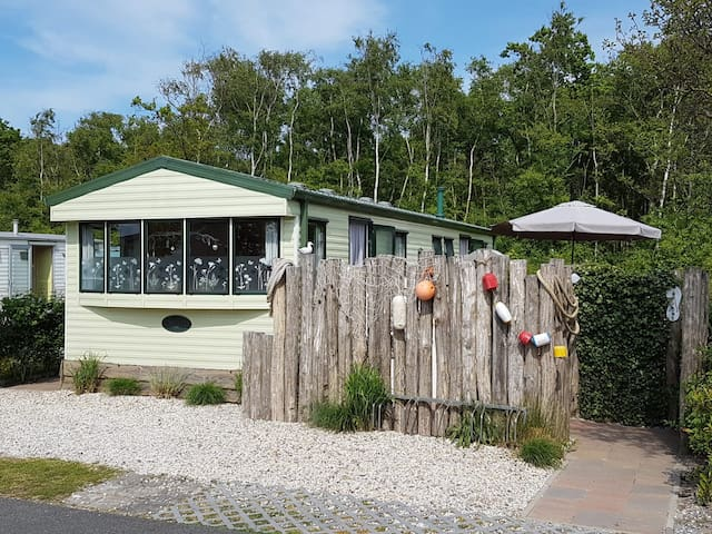 Chalet/Mobilheim/Ferienhaus, Julianahoeve, Renesse