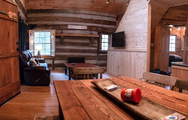 Main Cabin Dining and Living