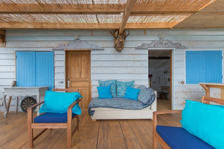 Barak'a bibi studio indépendant  terrasse vue mer