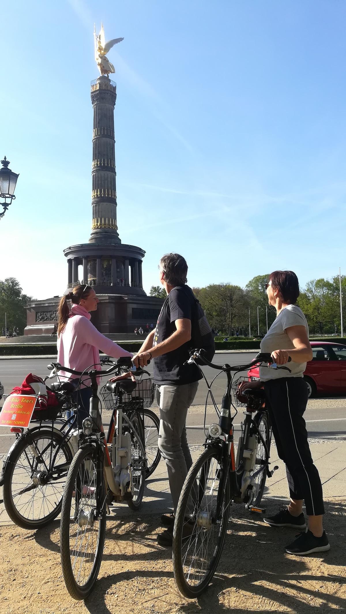 E Bike Highlights Tour Berlin Airbnb