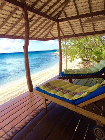 Beautiful bungalow on faraway motu - Rangiroa - Bungalow