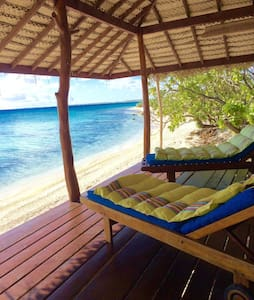 Beautiful bungalow on faraway motu - Rangiroa - 小平房