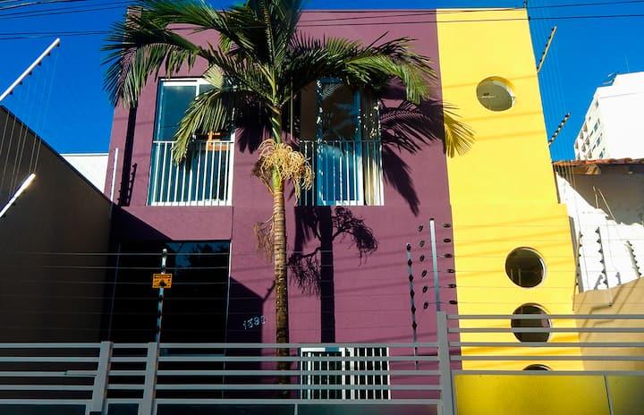 Dom Bosco Hostel, próximo da Praça Popular