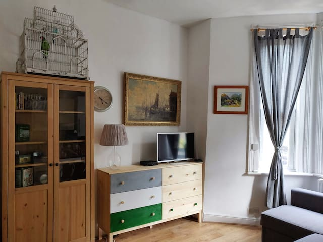 Homey and Bright Ground Floor Apartment in Zone 2