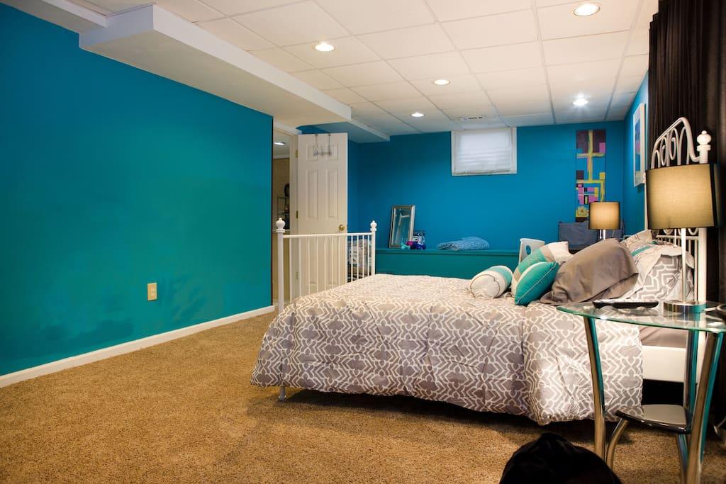 Roomy and cozy