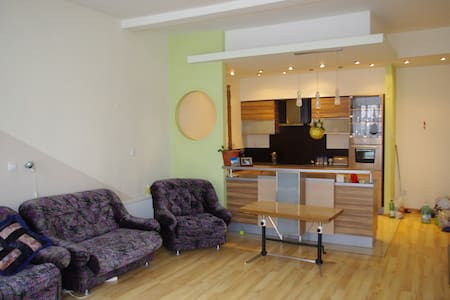 BEAUTIFUL, spacious apartment for 5-6 people - Brzeg - Lejlighed