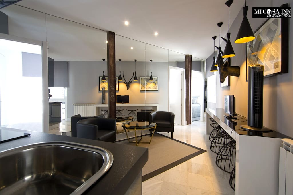 Apartamento reformado de tres habitaciones 6c apartamentos en alquiler en madrid comunidad de - Apartamentos de alquiler en madrid ...