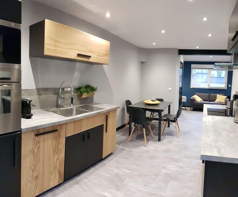 espace cuisine vue 1